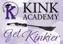 Kink Academy Logo: Click and Sign Up