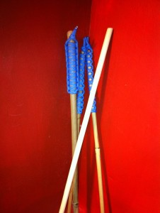 "The canes I have include bamboo and rattan. I have yet to acquire metal, hardwood, ""evil sticks"", Polyethylene, nylon..."